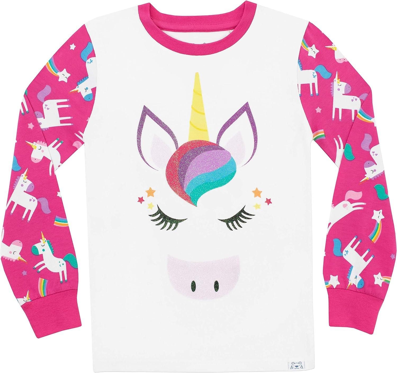 Harry Bear Girls Rainbow Short Pyjamas