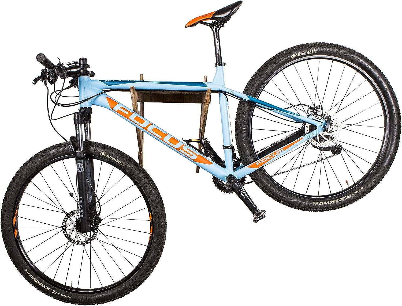 AKR - Soporte de Pared para Casco de Bicicleta de Madera para ...