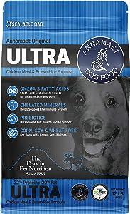 Annamaet Original Ultra Formula Dry Dog Food, 32% Protein (Chicken & Brown Rice)