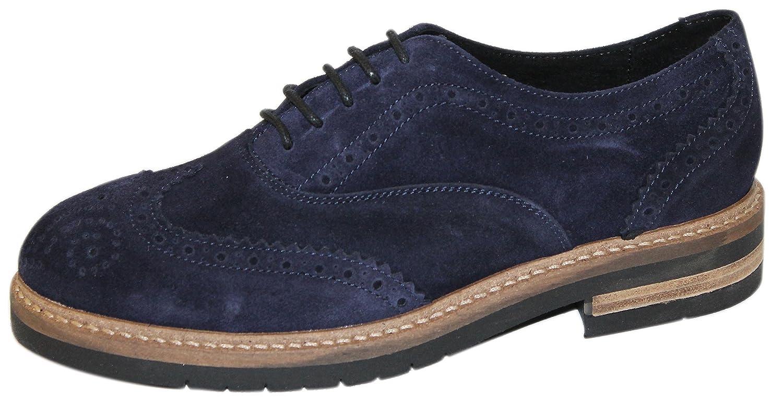 GRUNLAND - Zapatos de cordones de Piel para mujer 36|turquesa