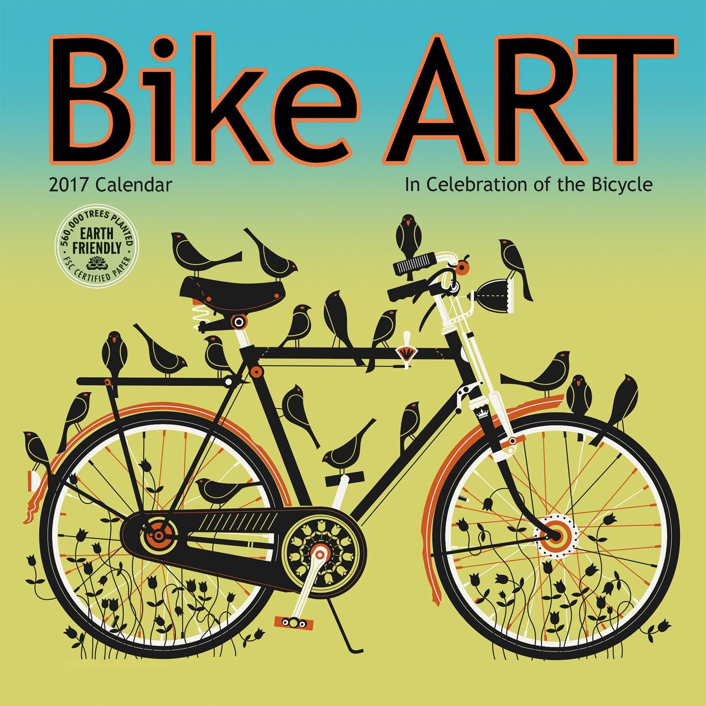 Bike 2017 Mini Wall Calendar product image