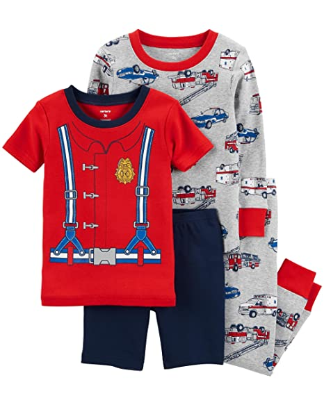 5c1d5c004 Amazon.com  Carter s Toddler Boys 4 Pc Pajama PJs Sleep Play Sleep ...
