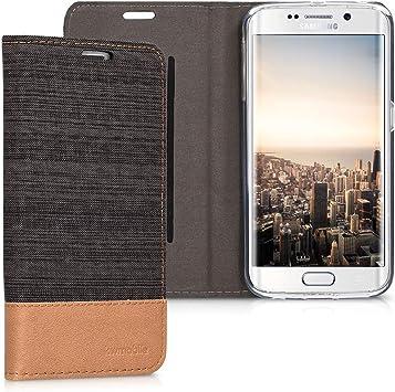 kwmobile Funda Compatible con Samsung Galaxy S6 Edge-Carcasa de ...
