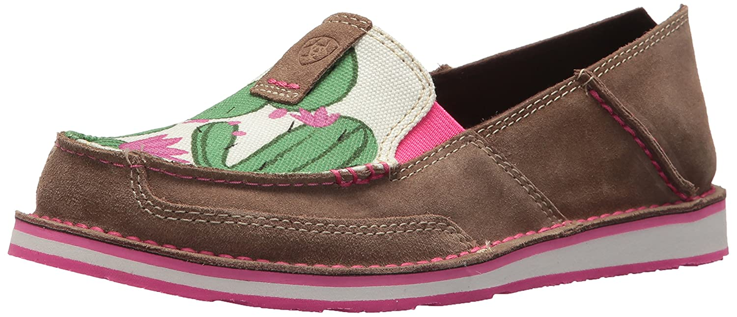Ariat Women's Cruiser Slip-on Shoe B076MF7GN9 6.5 B(M) US|Relaxed Bark/Cactus Print