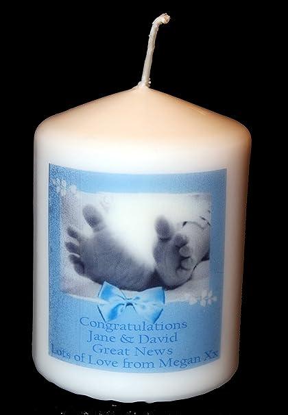 Flipmycover Cellini tarjeta de diseño de vela, para recién nacido ...