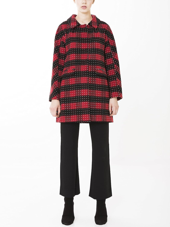 KLING Manteau Femme Rouge Rouge L: : Vêtements