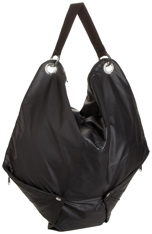 f553b59af5790 Amazon.com: adidas by Stella McCartney Sersa Tote,Black,one size ...