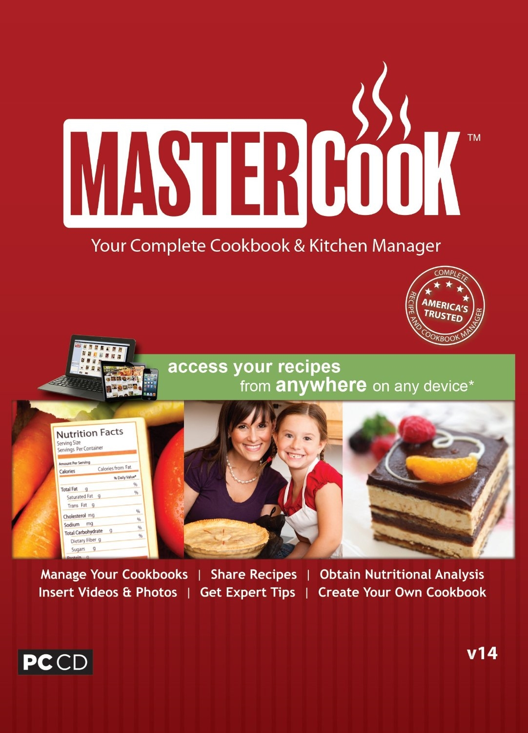 MasterCook 14 [Download] by Individual Software