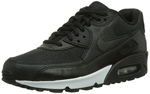 Nike Air MAX 90 Essential, Zapatillas para Mujer, Negro