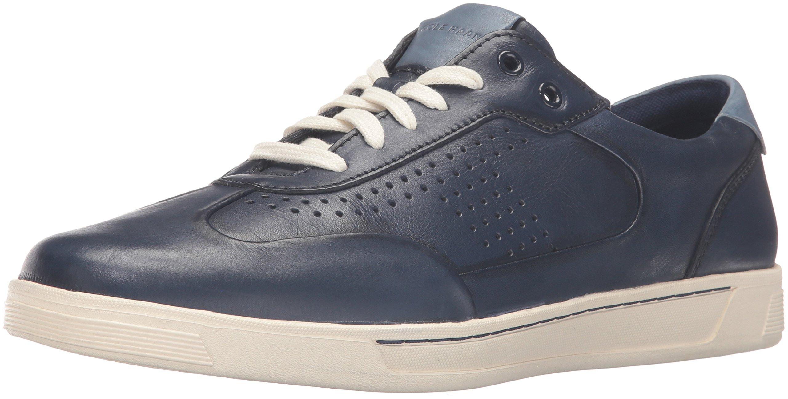 Cole Haan Men's Vartan T Toe Sport Ox Fashion Sneaker, Blazer Blue, 9.5 M US