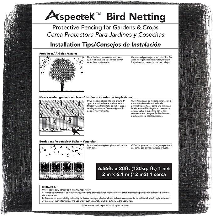 alpha-grp.co.jp 7 X 20 Feet Netting Bird Block Garden Fence ...