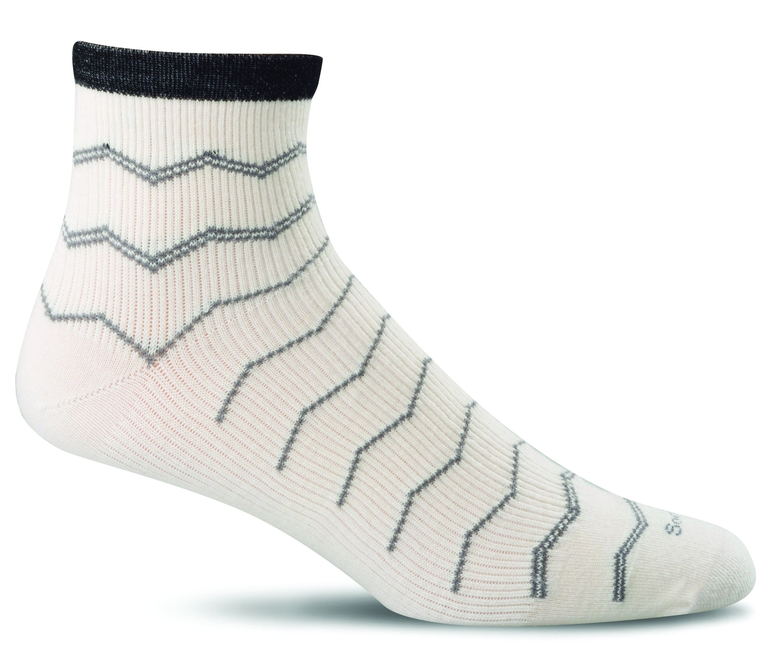 Sockwell Men's Plantar Fasciitis Firm Compression Socks, Natural, Medium/Large