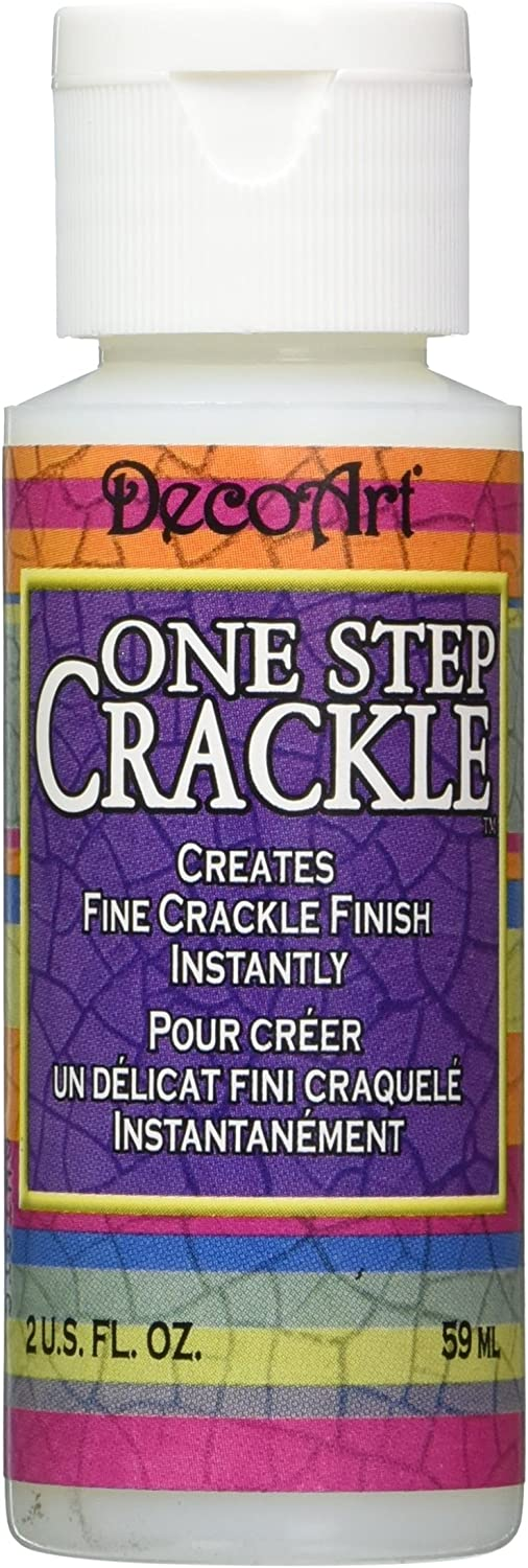 DecoArt DS69C-3 One Step Crackle Carded Paint, 2-Ounce