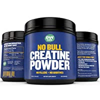 Creatine Monohydrate Powder - Faster Recovery, Muscle Mass Builder, Increase Volume...