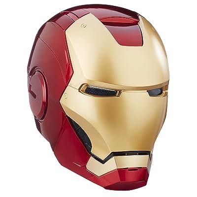 Avengers Marvel Legends Full Scale Iron Man Electronic Helmet: Toys & Games