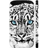 Enthopia Designer Hardshell Case BLUE EYED WHITE CHEETAH Back Cover for Samsung Galaxy Grand 2