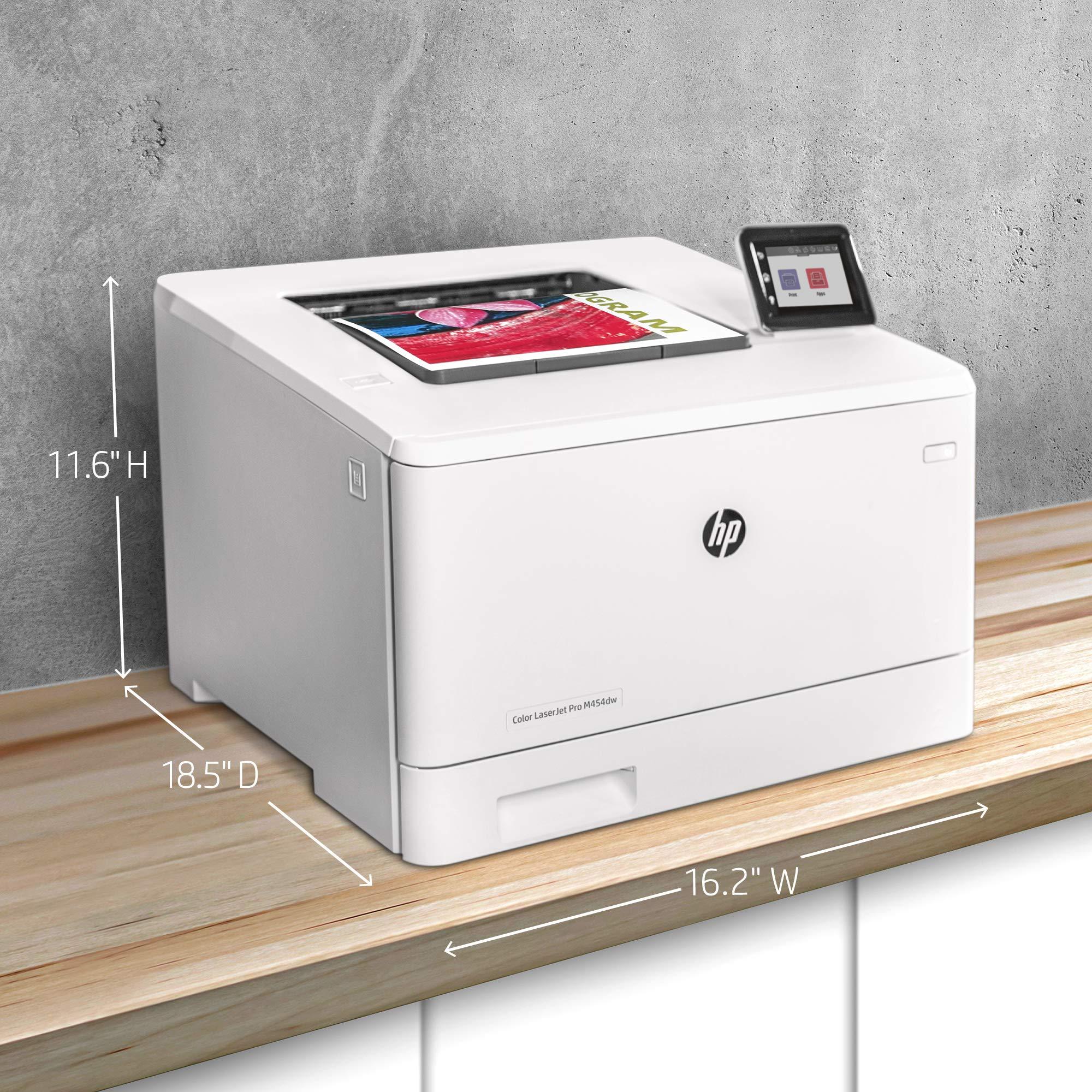 HP Color LaserJet Pro M454dw Printer (W1Y45A) by HP (Image #13)