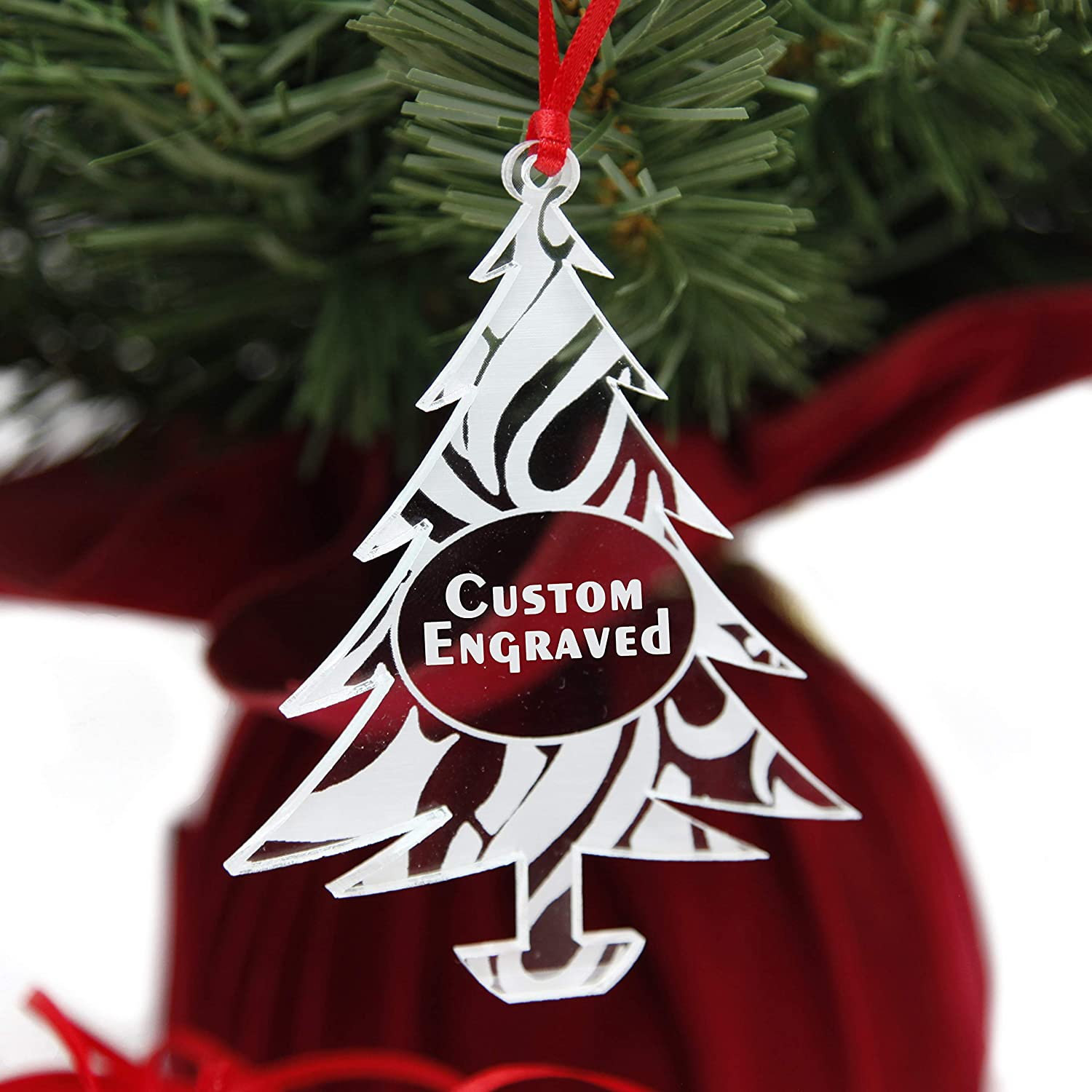 Amazon Com Lhs Engraving Personalized Christmas Tree Ornaments 2020 Best Xmas Gifts For Newlyweds Babies First Weddings Couples Clear Acrylic Custom Engraved Keepsake Cute Swirl Pattern Home Kitchen,Benjamin Moore Black Paints