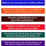 Achievement Quotes Fridge Magnets Inspirational Words And Motivational  Quotes Magnet Set  The Perfect Gift To