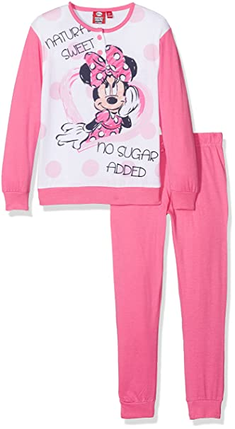 Disney 45316S/AZ, Pelele para Dormir para Niñas, Rosa (Azalea Pink 559