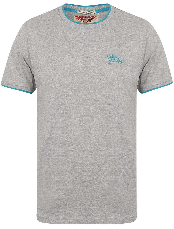 2cec0aae1f1 Tokyo Laundry Mens Short Sleeve Crew Neck T-Shirt  Amazon.co.uk  Clothing