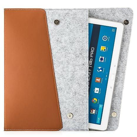 Zanasta 7 - 12 inch Funda protectora pantalla Tablet Bolsa Fieltro transporte, para Samsung Galaxy