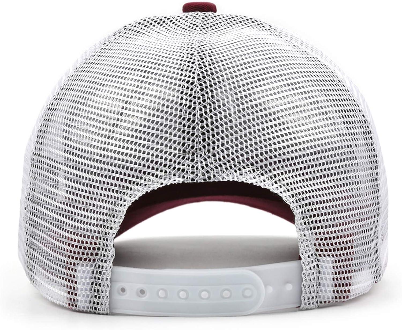 GDTYFSFSH Flat Brim Adjustable Mesh Unisex Hoyt-Archery-Logo-Trucker Hat Cap