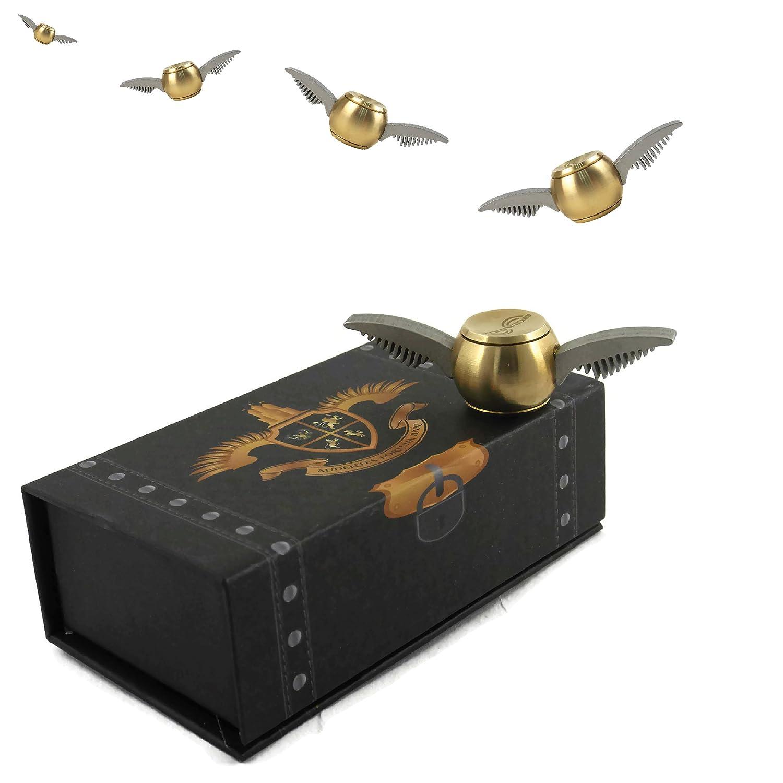 Exclusive Chest Box Design Tornado Golden Orb Fidget Spinner v2