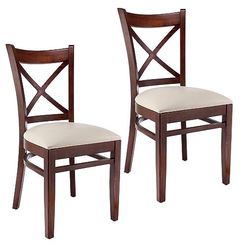 Beechwood Mountain BSD-106S-Mo Solid Beech Wood Side Chair