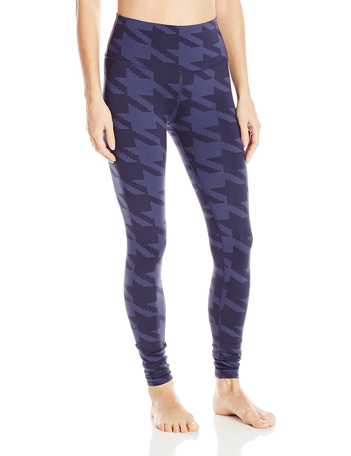 Rich Navy Houndstooth M Alo Yoga Women's High Waist Airbrush Legging Engineered