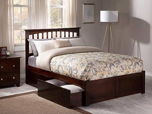 Atlantic Furniture Mission Bed