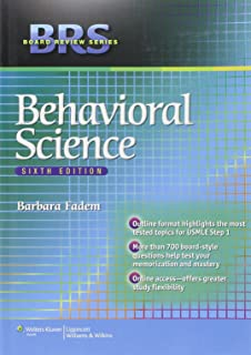Brs Behavioral Science Board Review Series 9781496310477