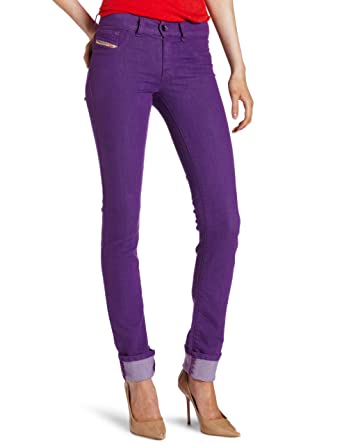 4bf5bd12 Amazon.com: Diesel Women's Livier Super Slim Jegging 0661Q: Clothing