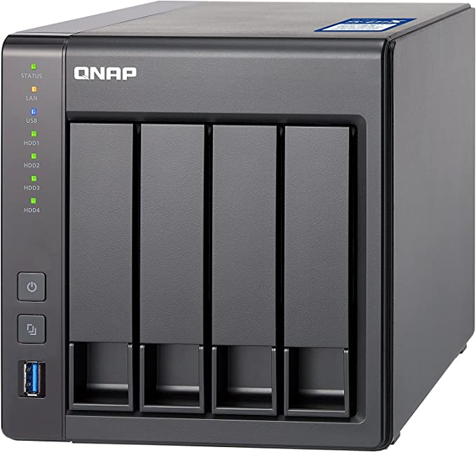 QNAP TS-431X-8G/16TB-RED 4 Bay NAS -