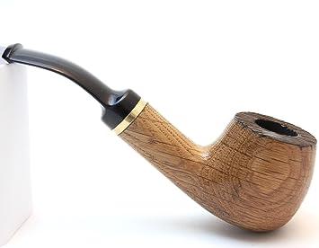 Smoke Pipe - Vine No 28 - Oak Wood - Hand Made