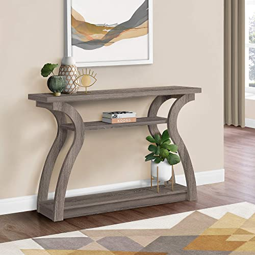 Monarch Specialties , Hall Console, Accent Table, Dark Taupe, 47 L