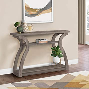Monarch Specialties , Hall Console, Accent Table, Dark Taupe, 47