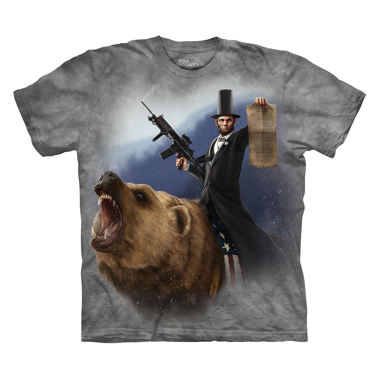 Amazon The Mountain Lincoln The Emancipator T Shirt Clothing