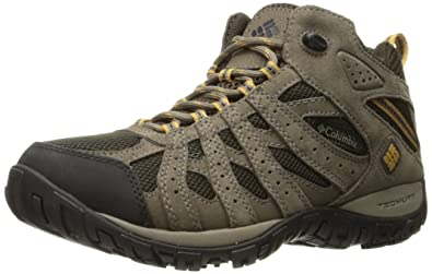 56d0a450afa Columbia Men's Redmond Mid Waterproof Boot, Breathable, High-Traction Grip
