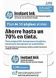 HP Instant Ink - Primer mes del servicio de reposición de tinta de HP, plan de 50 páginas