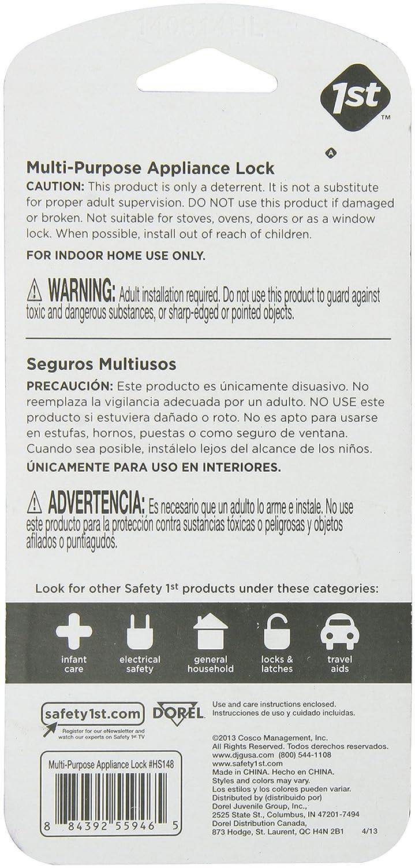 Safety 1st Multi-Purpose Appliance Latch D/écor