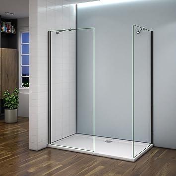Mampara de ducha 90 x 200 cm mampara de ducha a la italiana ...
