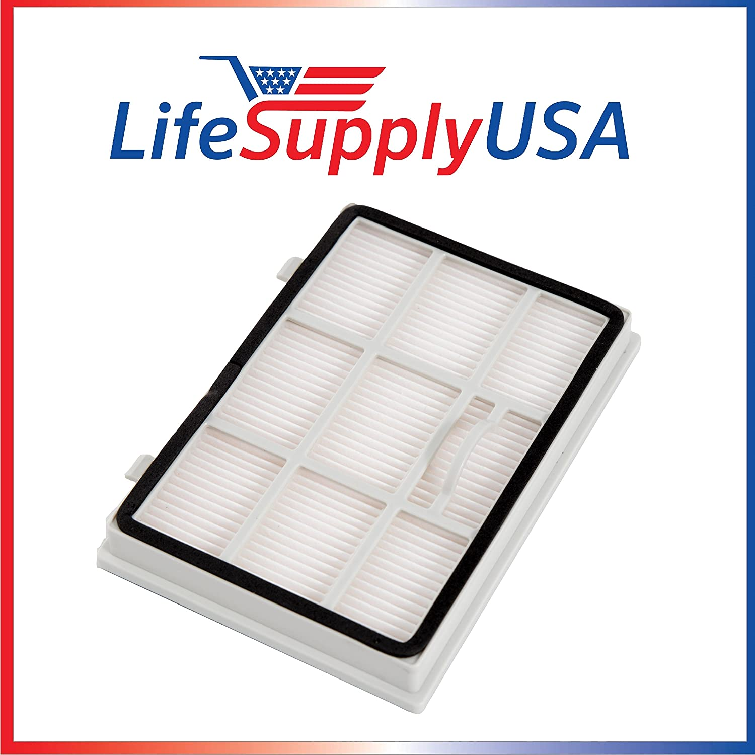 5 Pack Filter fits Kenmore 24194 KC38KDRDZ000 Exhaust HEPA Filter 24194 AC38KDRZ000 24194 by LifeSupplyUSA