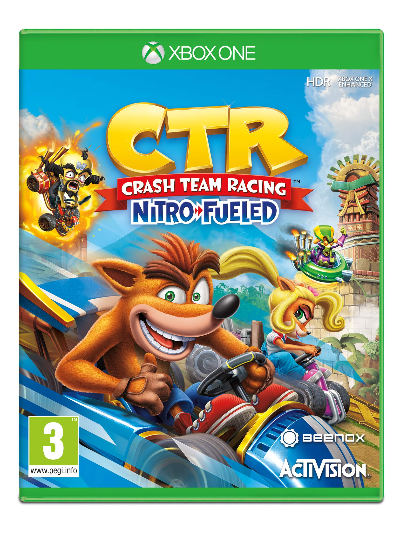CrashTM Team Racing Nitro-Fueled (Xbox One)