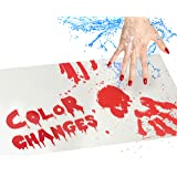 IntroWizard Bleeding Paper - Bloody Halloween Decor for Party, Horror Movie Gifts, Color Change Magic with 2 Sheets That…