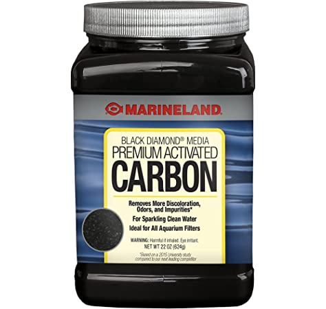 Amazon Com Envirosupply 12x40 Mesh Size Coconut Shell Activated Carbon Premium Charcoal Filter Media For Aquarium And Water Filtration Removed Odors And Discoloration Resealable Bulk 1 Pound Bag 455 Grams Pet Supplies