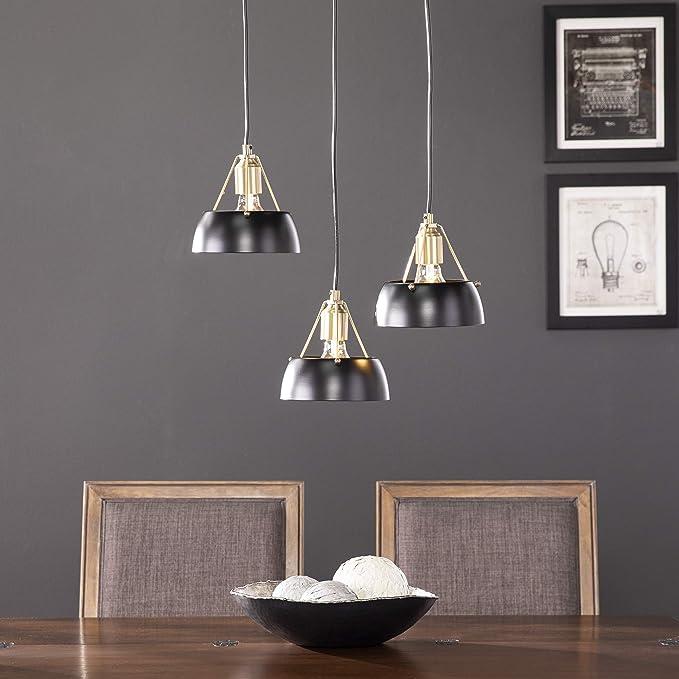 Furniture Hotspot Renmarco Contemporary 3 Light Cluster Penant Amazon Com