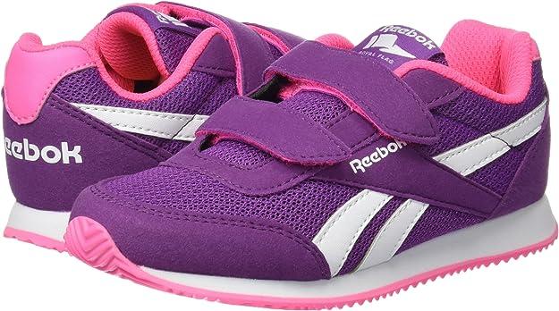 Reebok BD5436, Zapatillas de Trail Running para Niñas, Morado (Aubergine/Solar Pink/White), 34 EU: Amazon.es: Zapatos y complementos