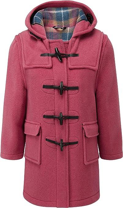 Children's Classic Duffle Coat Pink