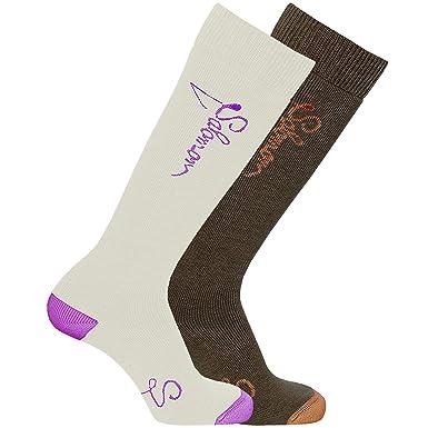 Salomon Ski Socken Charm Damen 2er Pack: : Bekleidung